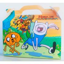 Cajita Bolsita Hora De Aventura Souvenirs Pack X100