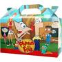 Phineas And Ferb Bolsita Souvenir Infantil Pack X 10