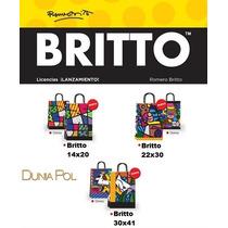 Bolsa Suvenir Regalo Britto 22x24 (x Pack) -nuevo Modelo-