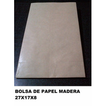 Bolsa De Papel, 27x17x8. Envió Gratis A Capital Federal