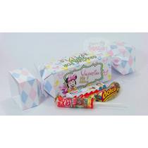 Caja Golosinera Caramelo Personalizada -cajita Souvenirs
