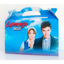 Cajita Bolsita Esperanza Mia Souvenirs Infantiles Pack X100