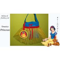 Bolsitas Princesas Souvenir Cumpleaños X10u