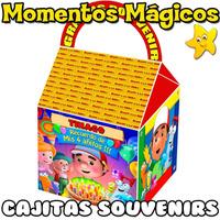 10 Cajitas Feliz Souvenirs Manny A La Obra Golosinera