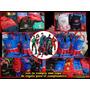 Bolsitas Super Heroes,batman,superman,,literna Verde,araña