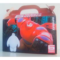 Cajita Bolsita 6 Grandes Heroes Souvenirs Pack X100