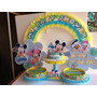 Centro De Mesa ,nacimiento, Baby Shower, Minnie,mickey