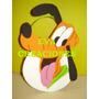 Bolsitas Golosineras Minnie Mickey Donald Pluto En Goma Eva