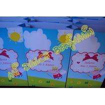 Peppa Pig Bolsita Golosinera Personalizada Pack X 10