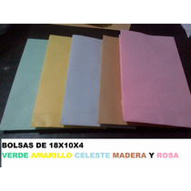 Bolsa De Papel 18x10x4 50u. Envio Gratis A Capital Federal