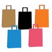 Bolsas De Papel Colores Lisos 30x41 (x100 Unidades)