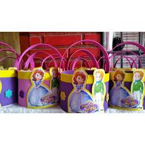 Golosineros ,centros De Mesa Princesa Sofia ,souvenirs