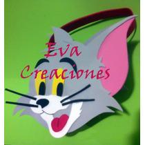 Bolsita Infantiles Tom&jerry Kitty Minions En Goma Eva