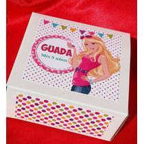 Souvenir Spa Nenas Cajita Toalla Jabón 10 Unidades
