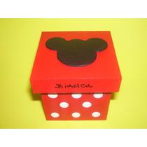 Cajitas Souvenirs Mickey!!! X10 Unidades