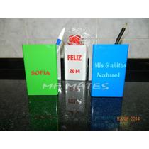 Lapiceros Porta Lapices Para Personalizar Souvenirs.