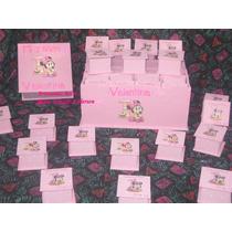 Souvenirs,mickey, Minnie Bebes,cajitas,1º Añito O Nacimiento