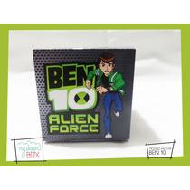 Souvenirs Eventos Cajas Personalizadas Ben 10 Alien Force