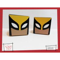 Cajas Heroes Iron Man Wolverine X Men Thor Souvenir Marvel