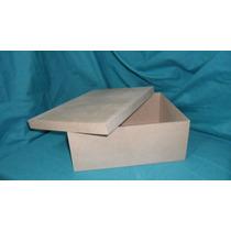 Cajas Tipo Zapato Fibrofacil 20 X 25 X 10 Cm Morema Trece