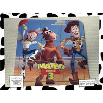 Souvenir Rompecabeza Personalizado Madera 15x15 Toy Story