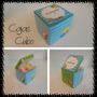 Souvenir/ Invitación 10 Cajas Cubo