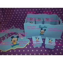Souvenirs Primer Año,2 Años Mickey Bebe,whinnie Pooh,minnie