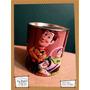 Souvenir Personalizado Alcancía Lata Evento Toy Story Woody