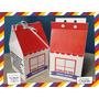 Souvenir Evento Caja Personalizada Casa Home Diseño A Pedido