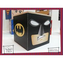 Caja Personalizada Madera 5cm2 Souvenir Heroes Lego Batman