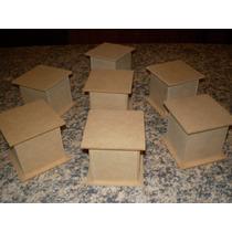Cajitas De Fibrofacil 6x6x6 Con Base Y Tapa Con Encastre X20