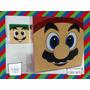 Souvenir Personalizado Eventos Cumple Caja Super Mario Bros