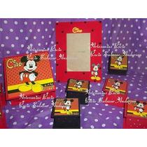 Souvenirs De Mickey Y Minnie,adultos,cajitas Y Lapiceros