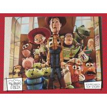 Souvenir Rompecabeza Personalizado Madera 10x10 Toy Story