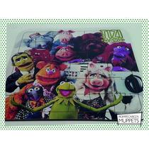 Souvenir Rompecabeza Personalizado Madera 30x30 Muppets Rene