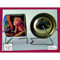 Alcancía Giratoria Souvenir Personalizada Disney Rapunzel