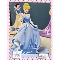 Souvenir Evento Madera 10cm Princesas Disney Cenicienta