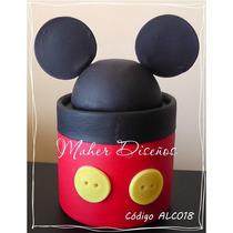 Souvenirs Alcancias Carameleras Orejas De Minnie Y Mickey