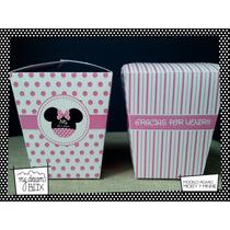 Souvenir Evento Caja Personalizada Disney Minnie Mouse Ratón