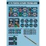 Kit Etiquetas Sticker Personalizado Escuela Cole Héroes Lego