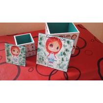 Souvenirs Cajitas 6x6 Cumpleaños Baby Shower Fibrofacil