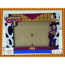 Souvenir Personalizado Portaretrato Madera 15x21cm Toy Story