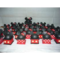 Cajitas Souvenirs Mickey Y Minnie En Porcelana Fría