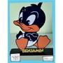 Souvenir Personalizado Madera 10cm Looney Tunes Pato Lucas