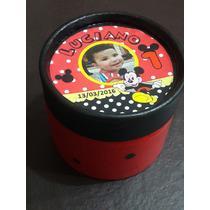 Combo 50 Cajas Golosineras Mickey Personalizadas