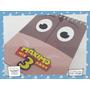 10 Anotadores Personalizado Toy Story Caballo Woody 40 Hojas