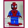 Souvenir Personaliza Madera 10cm Heroes Spiderman Lego Araña