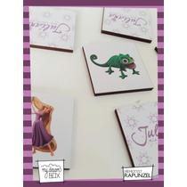 Souvenir Memotests Personaliza Madera 4x4cm Disney Rapunzel