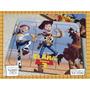 Souvenir Rompecabeza Personalizado Madera 10x12 Toy Story