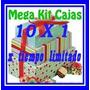 Moldes Patrones Cajitas Son 10 Kits Imprimibles Cajas! Mirá!